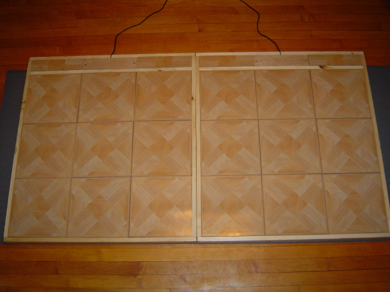 A Pair Of Homemade Ddr Dance Pads